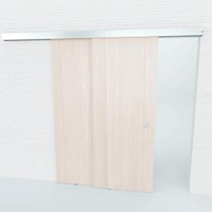 Manualny system do drzwi przesuwnych do skrzydeł szklanych i drewnianych MUTO-6