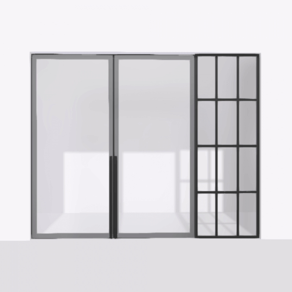 porta pivot 4245 drzwi dwuskrzydlowe z pojedyncza scianka dzialowa 5