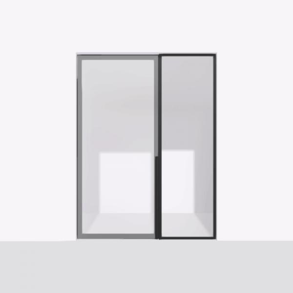 porta pivot 4245 drzwi pojedyncze ze stala scianka dzialowa 10