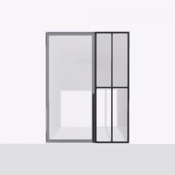porta pivot 4245 drzwi pojedyncze ze stala scianka dzialowa 7