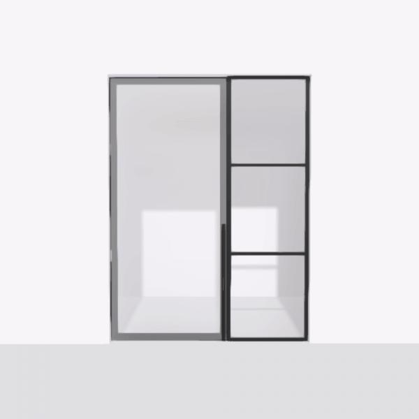 porta pivot 4245 drzwi pojedyncze ze stala scianka dzialowa 8