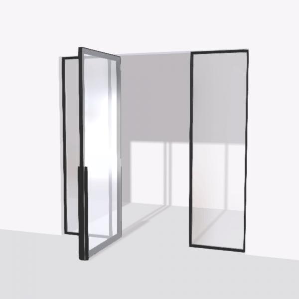 porta pivot 4245 drzwi pojedynke z podwojna stala scianka dzialowa 10