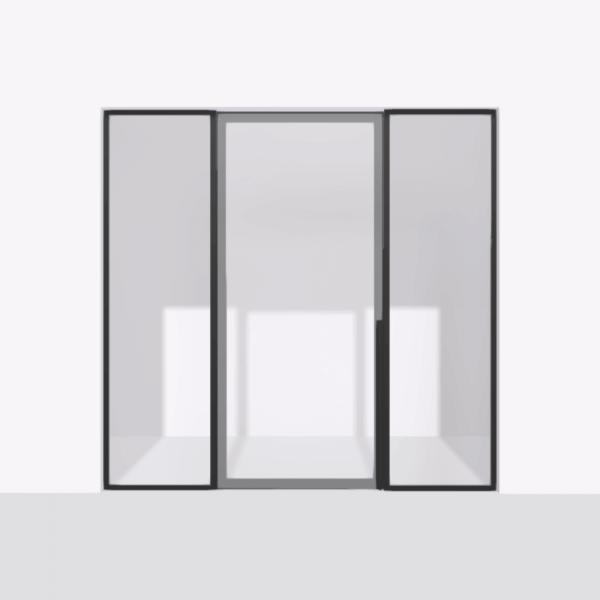 porta pivot 4245 drzwi pojedynke z podwojna stala scianka dzialowa 2