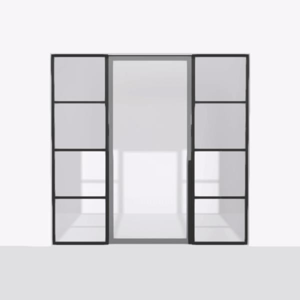 porta pivot 4245 drzwi pojedynke z podwojna stala scianka dzialowa 5