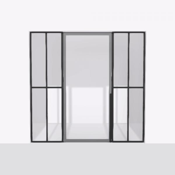 porta pivot 4245 drzwi pojedynke z podwojna stala scianka dzialowa 7