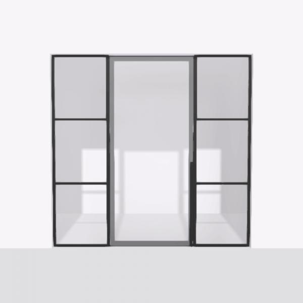 porta pivot 4245 drzwi pojedynke z podwojna stala scianka dzialowa 8